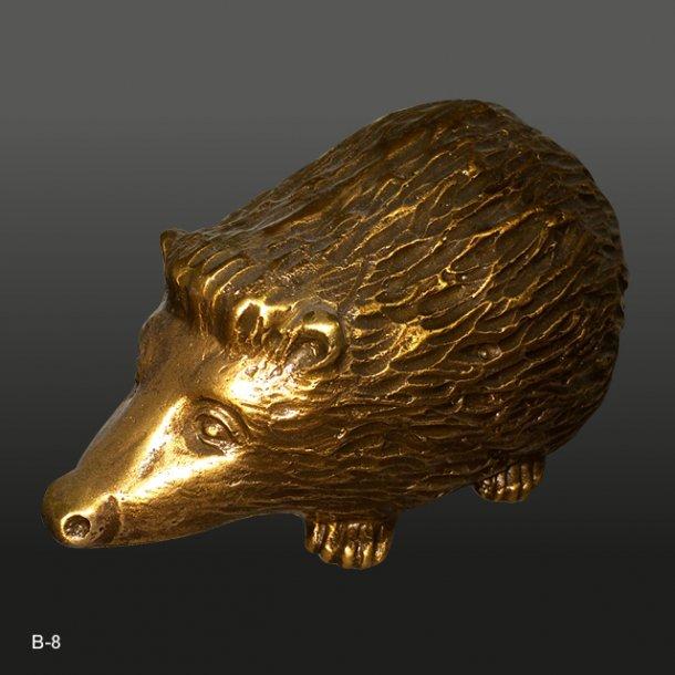Bronze Pindsvin<br>15x8 cm