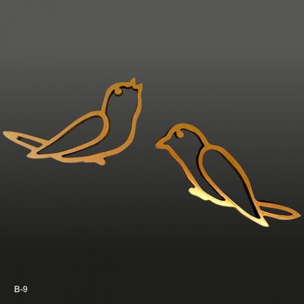 Bronze Spurv<br>10x4 cm