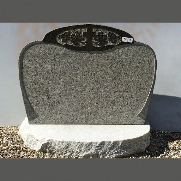 Blå Rønne granit<br>Bornholm<br>65x50x16 cm