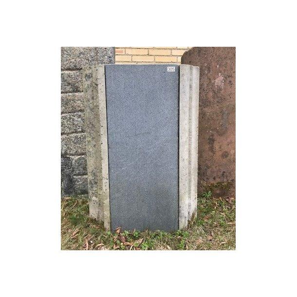 Blå Granit med Sandsten profil<br> 35x88x16 + Sandsten