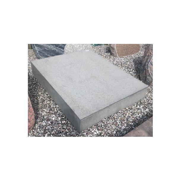 Færøsk Lavasten Matpoleret <br> 60x75x12 cm.