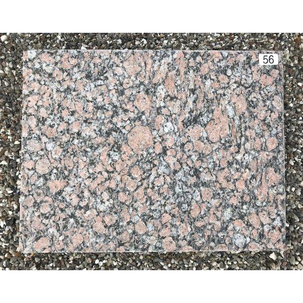 Finsk Granit Brændt <br> Finland <br> 50x39 cm.