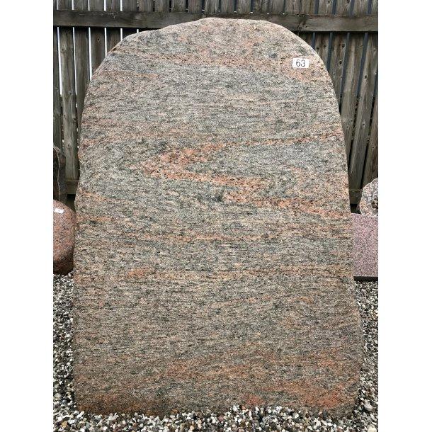 Halmstad Marksten <br> Sverige <br> 125x63 cm.