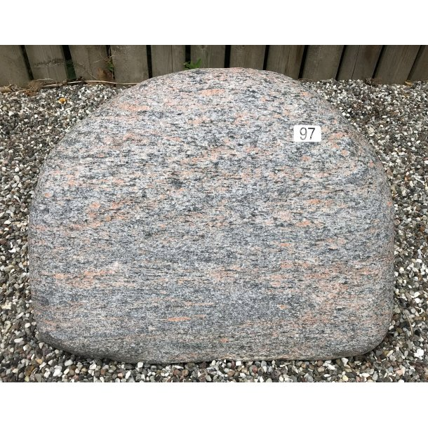 Halmstad Gnejs Brændt <br> Sverige <br> 52x40 cm.