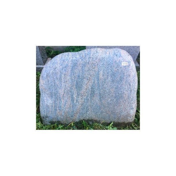 Halmstad Gnejs Brændt <br> Sverige <br> 70x60 cm.