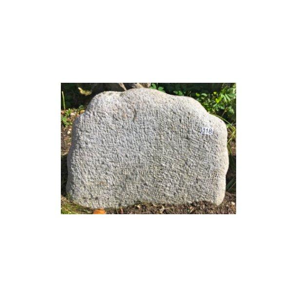 Granit Stokket <br> Nordisk <br> 50x37 cm.