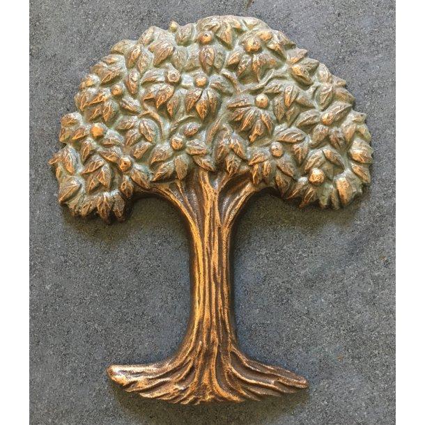 Bronze Træ<br> 18x16 cm.
